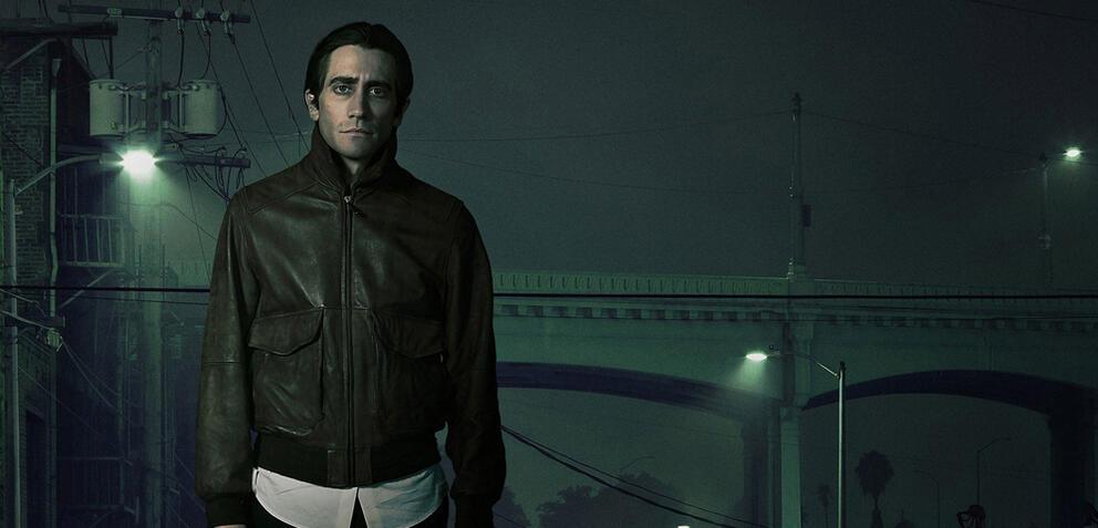 Jake Gyllenhaal in Nightcrawler