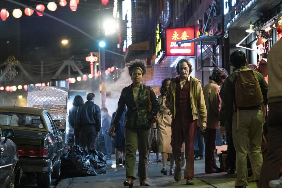Joker mit Joaquin Phoenix und Zazie Beetz