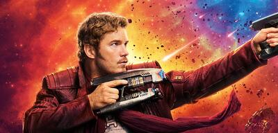 Chris Pratt inGuardians of the Galaxy Vol. 2