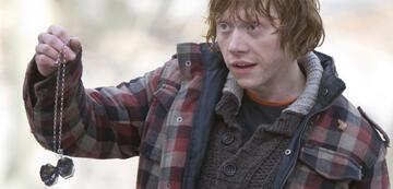 Harry Potter 7.1: Ron mit zerstörtem Horkrux