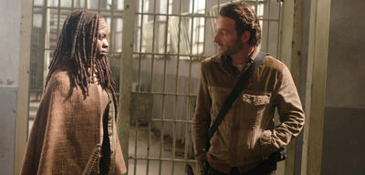 Michonne und Rick in The Walking Dead