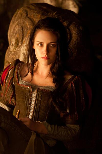 Kristen Stewart in Snow White and the Huntsmen