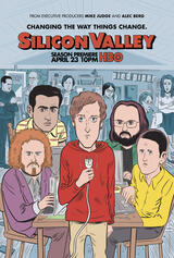 Silicon Valley - Staffel 4 - Poster