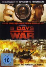 5 Days of War - Poster