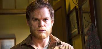 Dexter als Holzfäller im 1. Finale