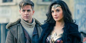 Chris Pine und Wonder Woman Gal Gadot