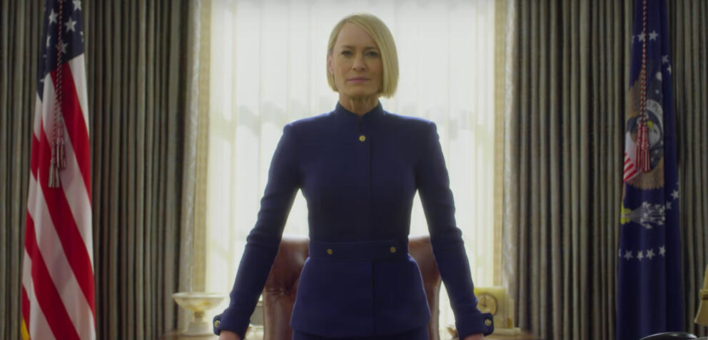 House of Cardsmit Robin Wright