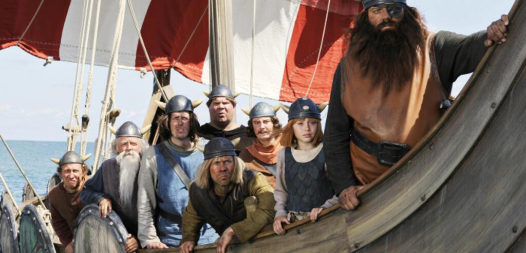 Szene aus der Realverfilmung Wickie und die starken Männer