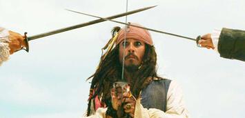 Bild zu:  Johnny Depp als Captain Jack