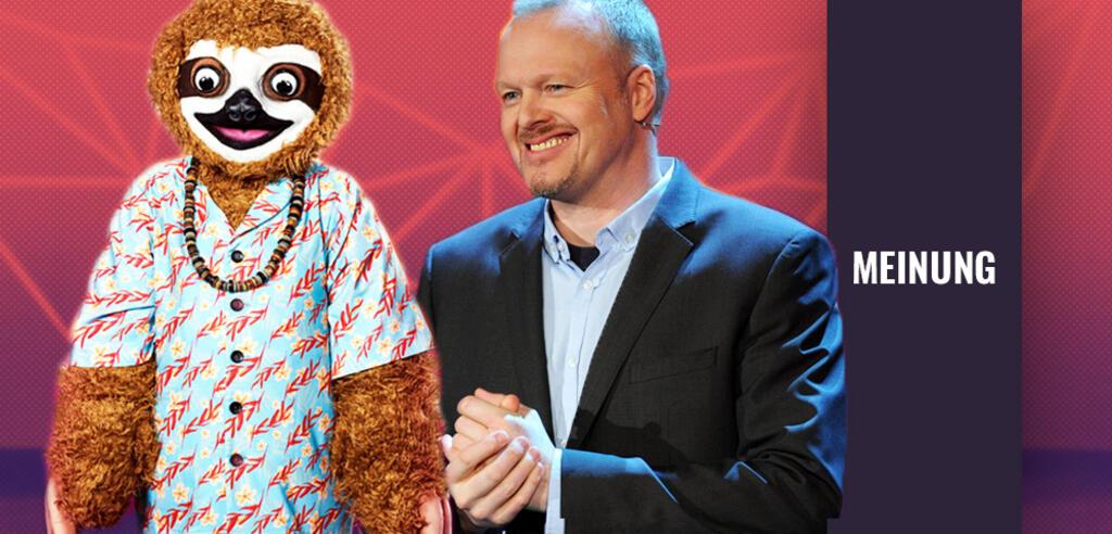 The Masked Singer: Ist Stefan Raab das Faultier?
