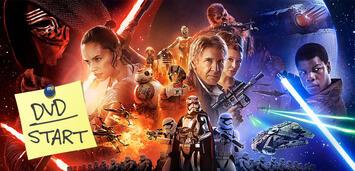 Bild zu:  Star Wars: Episode VII - Das Erwachen der Macht ab heute auf DVD und Blu-ray Disc erhältlich