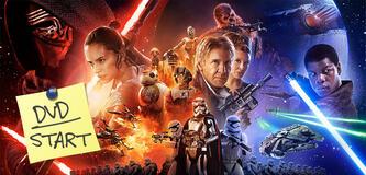 Star Wars: Episode VII - Das Erwachen der Macht ab heute auf DVD und Blu-ray Disc erhältlich