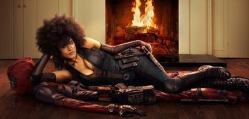 Domino in Deadpool 2