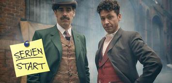 Bild zu:  Houdini und Doyle