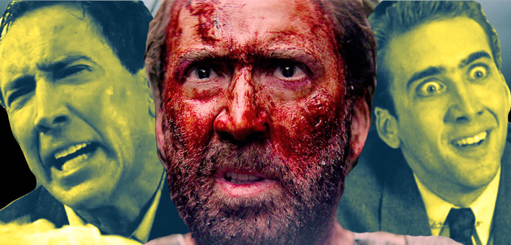Nicolas Cage in Wicker Man, Mandy und Vampire's Kiss
