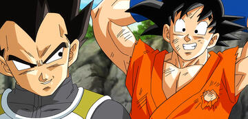 Vegeta und Son-Goku