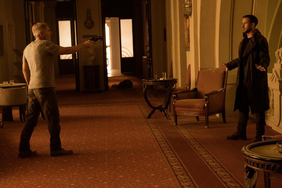 Blade Runner 2049 mit Ryan Gosling und Harrison Ford