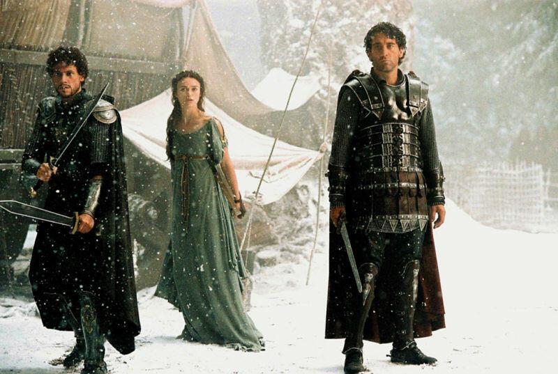 King Arthur mit Keira Knightley, Clive Owen und Ioan Gruffudd