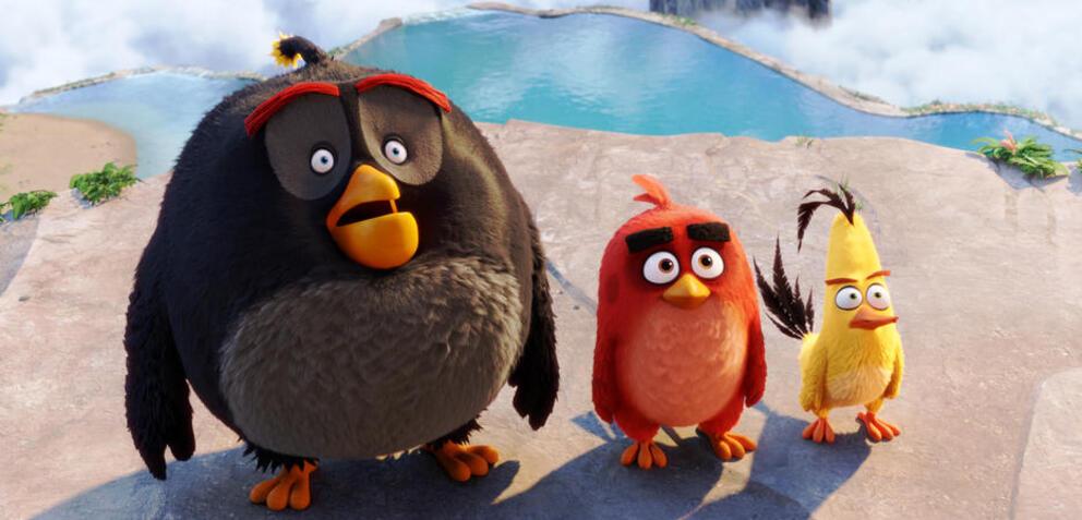 Hat sich vom Handyspiel zum Animationsfilm gemausert: Angry Birds