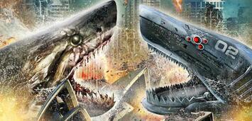 Bild zu:  Mega Shark vs. Mechatronic Shark