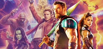 Thor, Valykrie und die Guardians