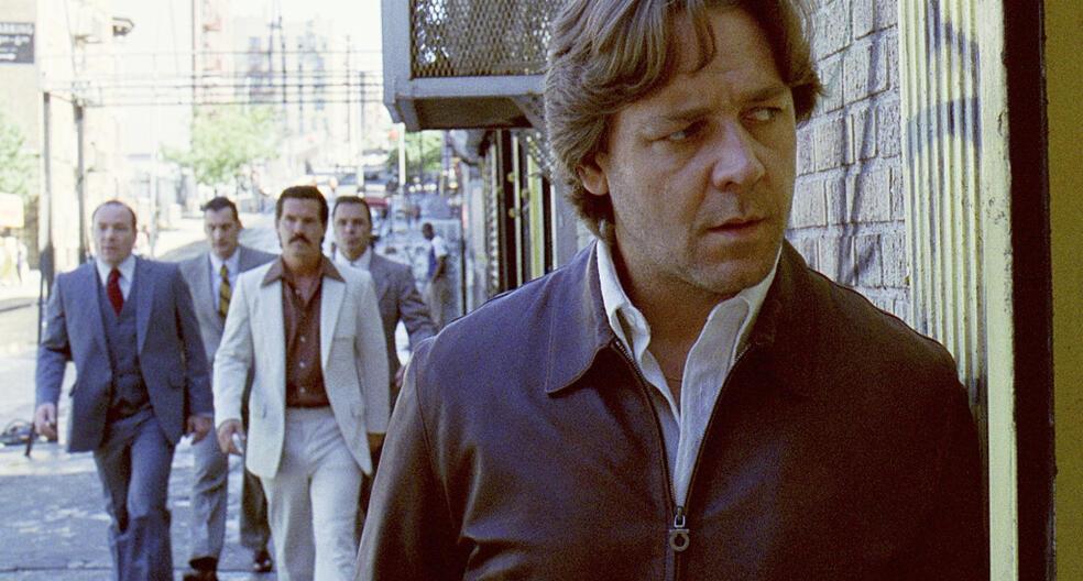 American Gangster mit Russell Crowe und Josh Brolin