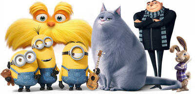 Figuren aus Filmen von Illumination Entertainment