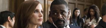 Jessica Chastain und Idris Elba in Molly's Game