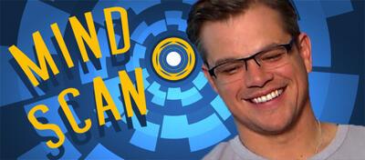 Matt Damon im Mindscan