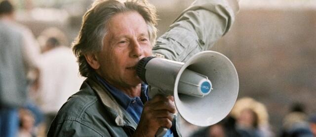 Roman Polanski am Set von Der Pianist