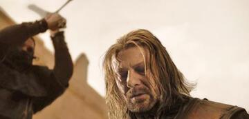 Eddards berüchtigte Todesszene