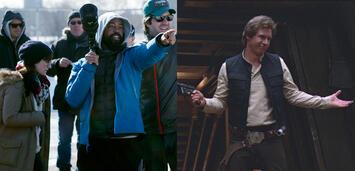 Bild zu:  Bradford Young am Set von A Most Violent Year & Harrison Ford inDie Rückkehr der Jedi-Ritter