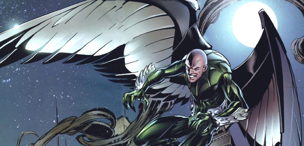 Vulture in den Comcis von Spider-Man