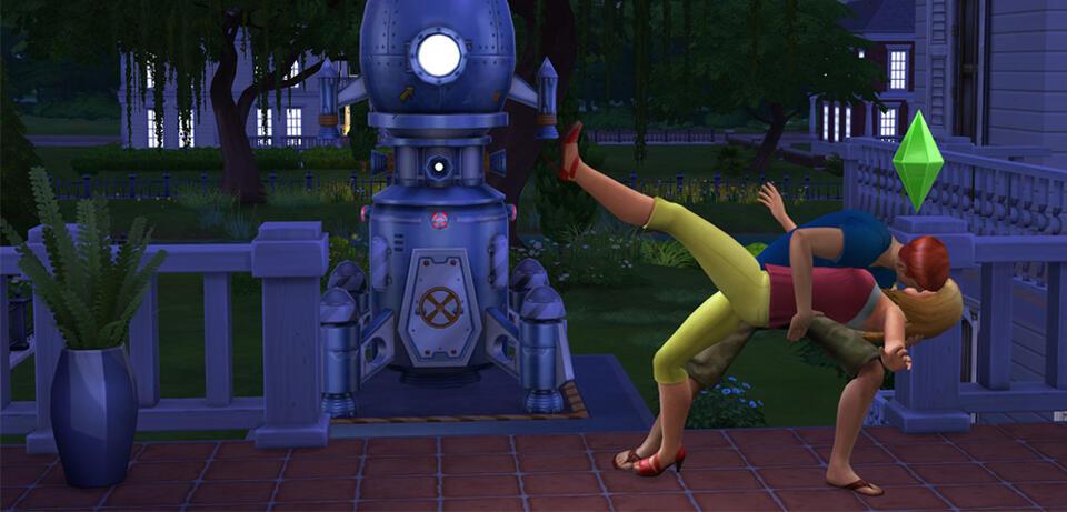Auch bei Die Sims geht es romantisch zu