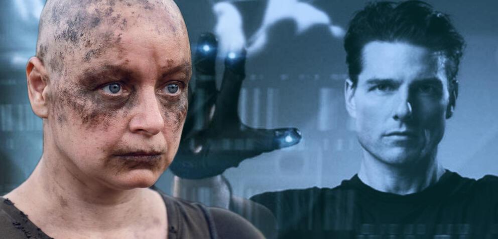 Samantha Morton in The Walking Dead/Tom Cruise in Minority Report