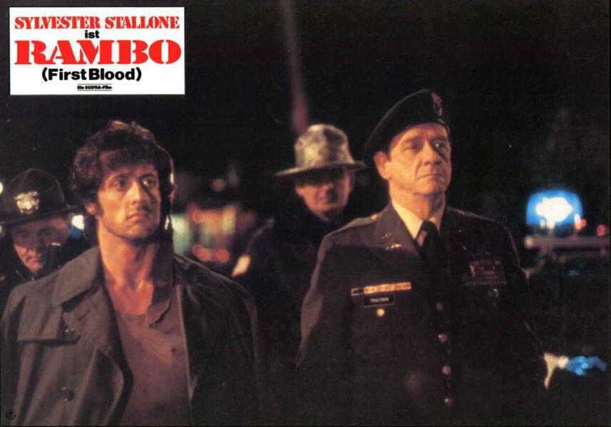 Rambo mit Sylvester Stallone und Richard Crenna
