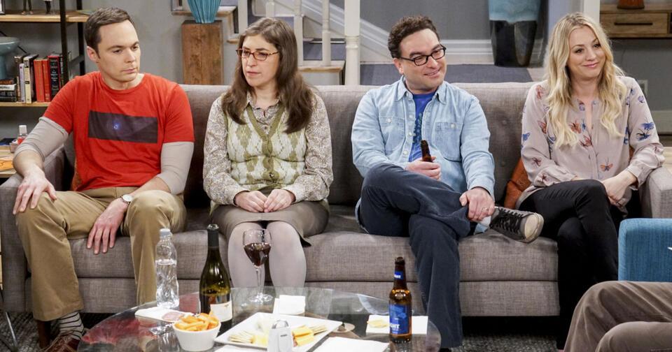 The Big Bang Theory Staffel 11 mit Jim Parsons, Kaley Cuoco, Johnny Galecki und Mayim Bialik