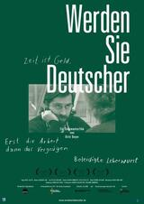 Werden Sie Deutscher - Poster