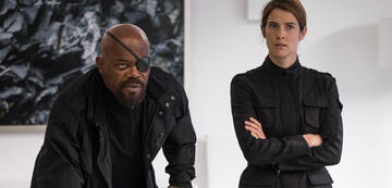 Spider-Man: Far From Home: Alleswisser Nick Fury & Maria Hill