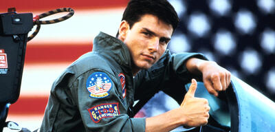 Top Gun mit Tom Cruise