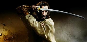 Vom Katana zum Lichtschwert ist es nicht mehr weit: Keanu Reeves in 47 Ronin.