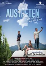Austreten - Poster