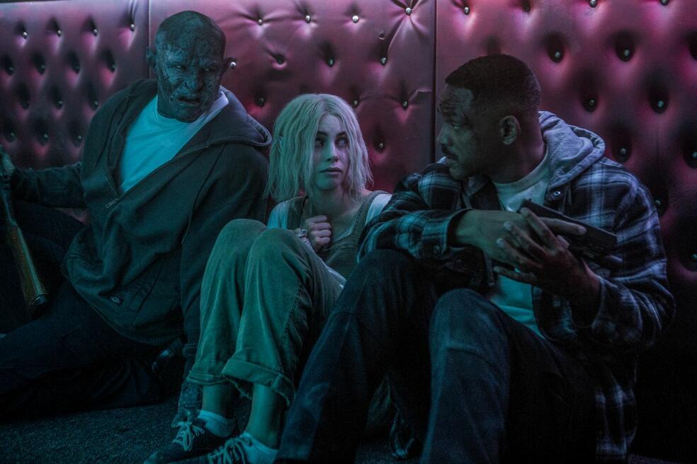 Bright mit Will Smith, Joel Edgerton und Lucy Fry