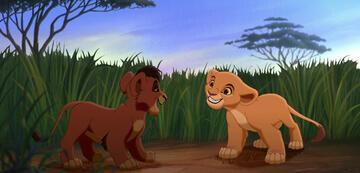Der König der Löwen 2: Kovu und Kiara als Kinder