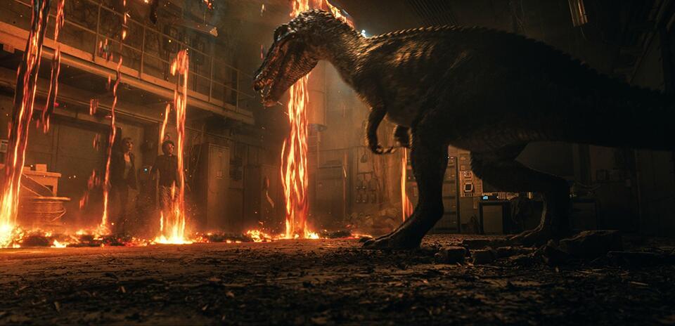 Jurassic World 2: Das gefallene Königreich mit Bryce Dallas Howard und Justice Smith
