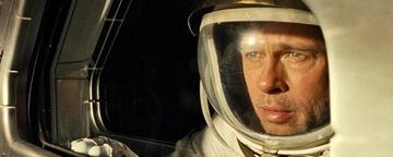 Brad Pitt in Ad Astra: eine leise Offenbarung.