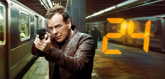 Kiefer Sutherland als Jack Bauer.