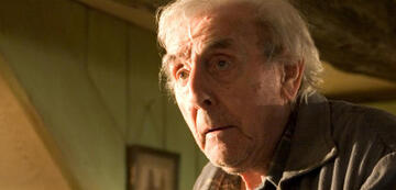 Eric Sykes als Frank Bryce in Harry Potter
