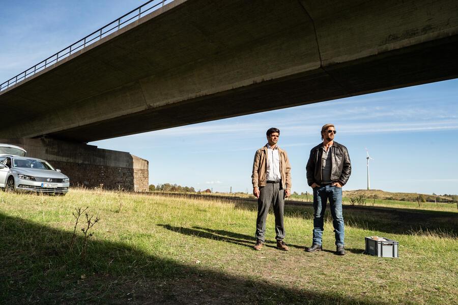 Der letzte Bulle  mit Henning Baum und Maximilian Grill