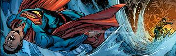 Aquaman schlägt Superman